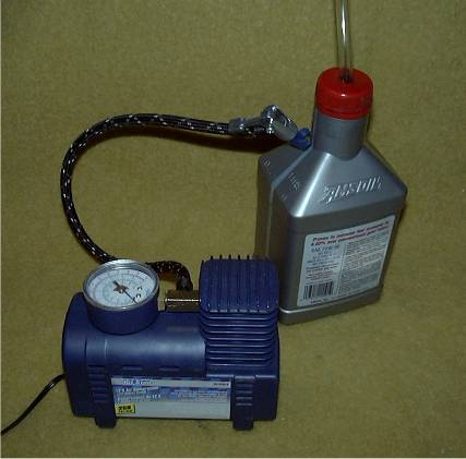 Air Pump Near Me >> Changing The Transmission Fluid - The Easy Way