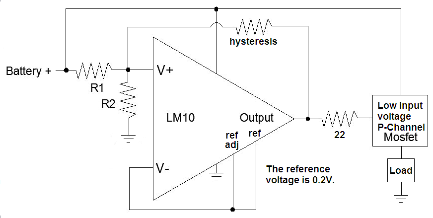 disconnect negative battery schematic