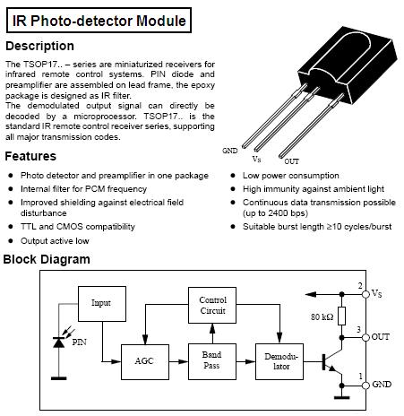 Aaron's Homepage Forum - Strange Noise Problem - Infrared Circuit