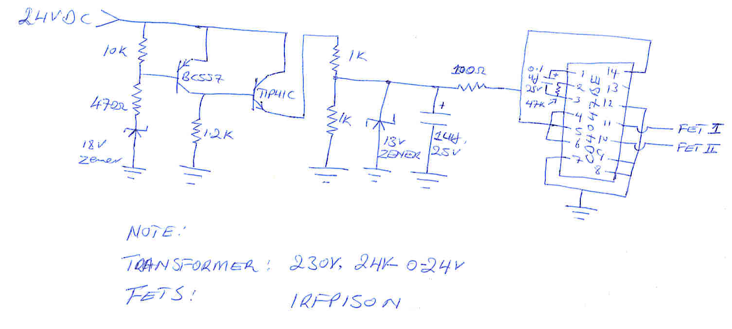 Aarons Homepage Forum 12v To 220v Inverter 180w By 2n3055 Electronic Circuits Schematics