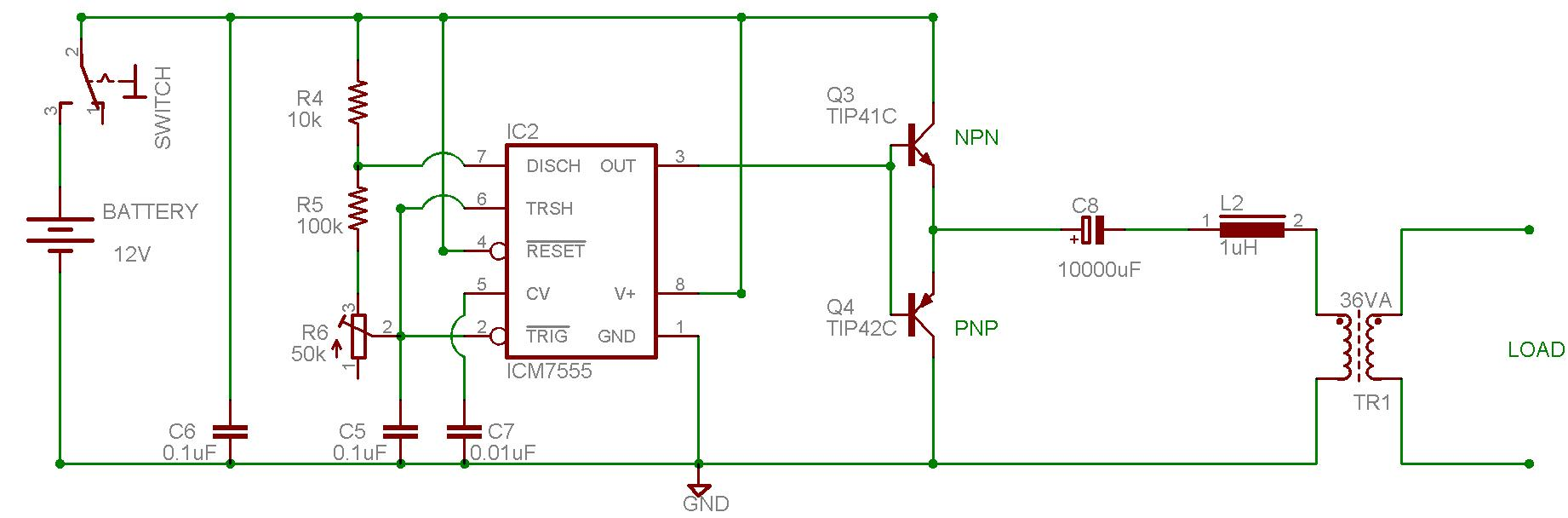 Dc to ac inverter wiring diagram wiring diagrams schematics aarons homepage forum dc to ac power inverter circuit diagram pdf 24vdc to 240vac inverter circuit pooptronica Choice Image