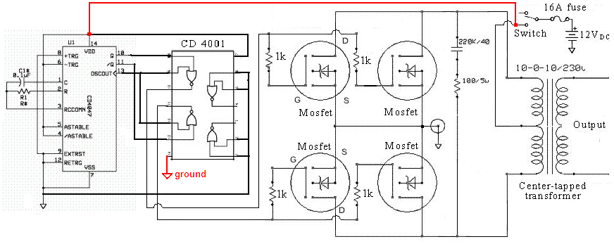 true sine wave inverter circuit diagram  nest wiring diagram, circuit diagram