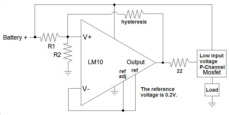 aaron s homepage forum battery u003e low voltage cutoff rh aaroncake net low voltage auto cut off circuit diagram Low Voltage Control Diagram