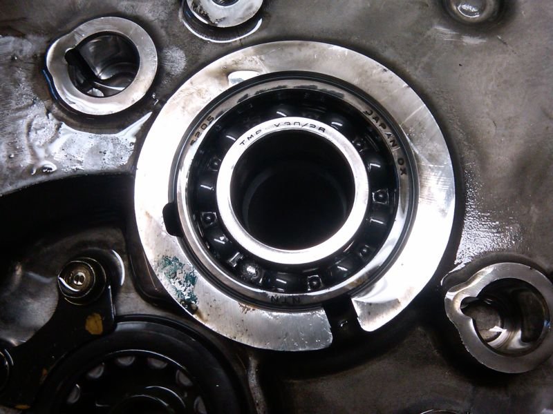 Pictures And Tips From My 5 Speed Input Shaft Bearing