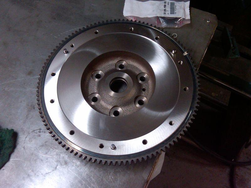 flywheel resurfacing machine