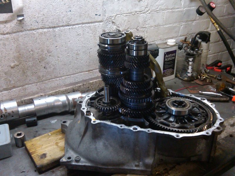 Pictures And Tips From My 5 Speed Input Shaft Bearing Replacement Insight Central Honda
