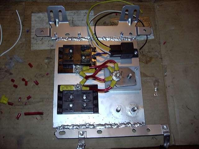 project tina october 1 2005 engine installation por 15. Black Bedroom Furniture Sets. Home Design Ideas