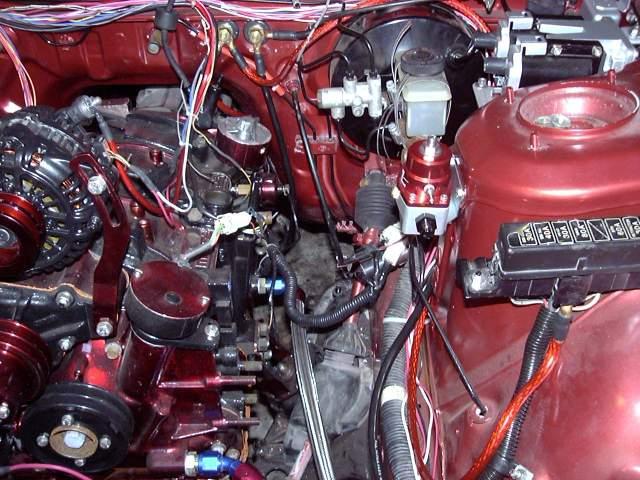 Fuel Pressure Regulator Mounted