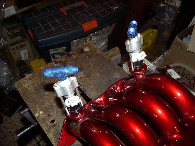Project Tina, August 7th, 2006: Fuel System, Intake Manifold