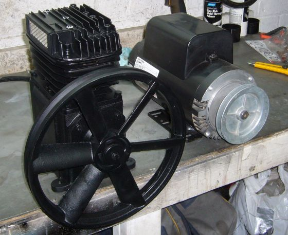 Campbell Hausfeld Air Compressor Motor : Campbell hausfeld air compressor upgrade oil less cfm