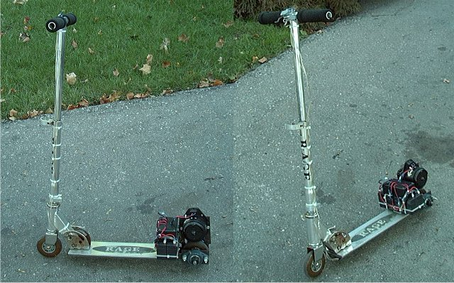 My Electric Razor-Style Scooter