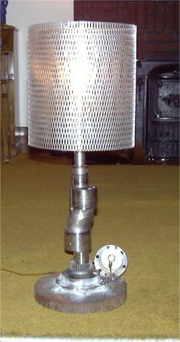 Rotary Engine Eccentric Shaft Lamp