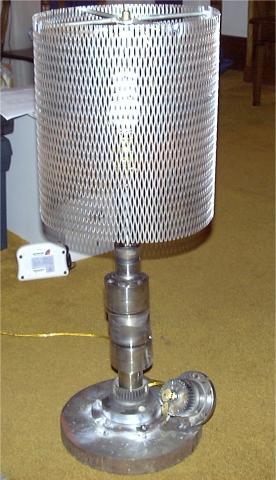 how to make a crankshaft lamp