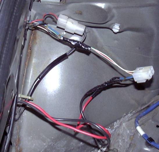 How To Megasquirt Your 2nd Gen RX7 Wire The ECU Panel Wideband - Fuel Pump Wiring Connectors